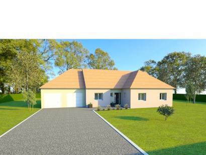 Modèle de maison AVANT PROJET CHATEAU DU LOIR- 125 m² - 2 chambres 3 chambres  : Photo 1