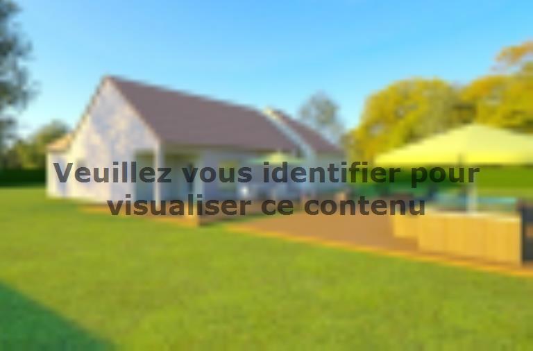 Modèle de maison AVANT PROJET CHATEAU DU LOIR- 125 m² - 2 chambres : Vignette 2