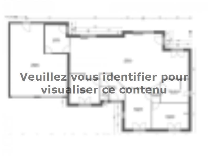 Plan de maison AVANT PROJET CHATEAU DU LOIR- 125 m² - 2 chambres : Vignette 1