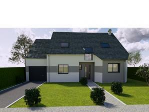 AVANT PROJET L'ARCHE - 127 m² - 4 chambres