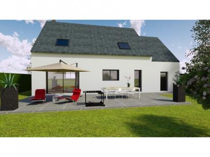 Modèle de maison AVANT PROJET L'ARCHE - 127 m² - 4 chambres 4 chambres  : Photo 2