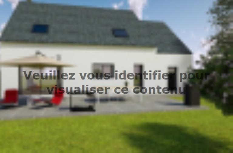 Modèle de maison AVANT PROJET L'ARCHE - 127 m² - 4 chambres : Vignette 2