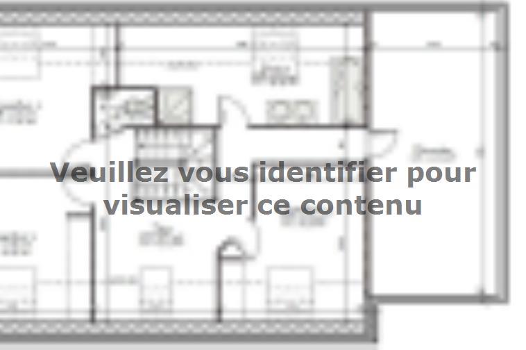 Plan de maison AVANT PROJET L'ARCHE - 127 m² - 4 chambres : Vignette 2
