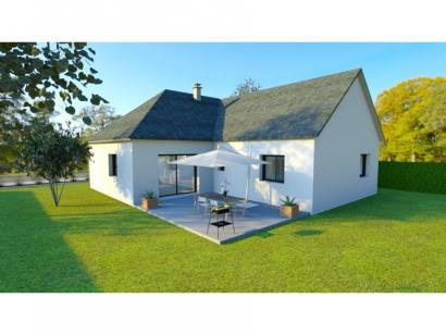 Modèle de maison AVANT PROJET Moncé - 90 m² - 3 chambres 3 chambres  : Photo 2