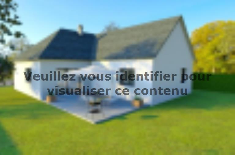 Modèle de maison AVANT PROJET Moncé - 90 m² - 3 chambres : Vignette 2