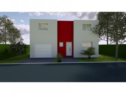Modèle de maison AVANT PROJET ROEZE - ETAGE - 4 chambres 4 chambres  : Photo 1