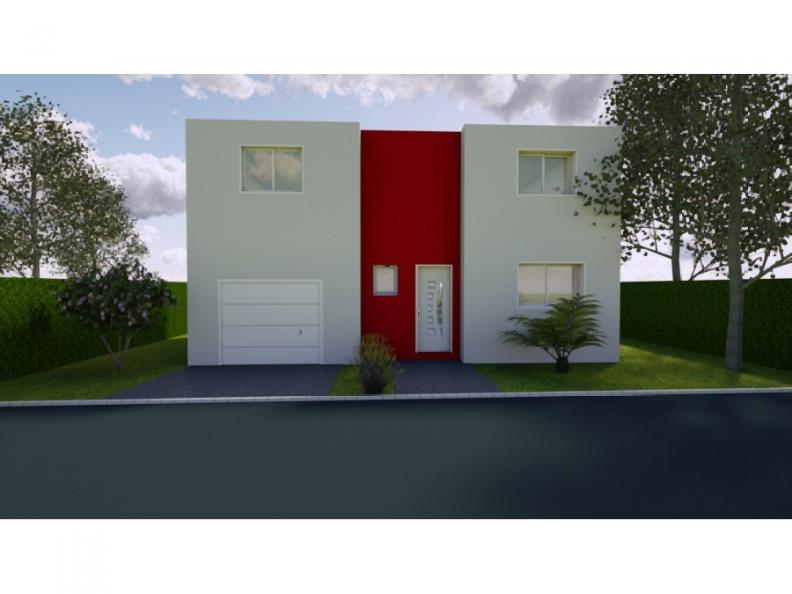 Modèle de maison AVANT PROJET ROEZE - ETAGE - 4 chambres : Vignette 1