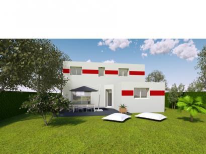 Modèle de maison AVANT PROJET ROEZE - ETAGE - 4 chambres 4 chambres  : Photo 2