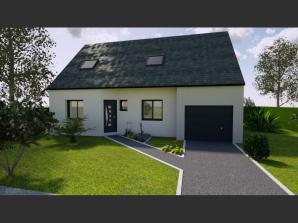 AVANT PROJET YVRE - Etage 100 m² - 4ch