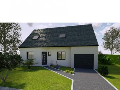 Modèle de maison AVANT PROJET YVRE - Etage 100 m² - 4ch 4 chambres  : Photo 1