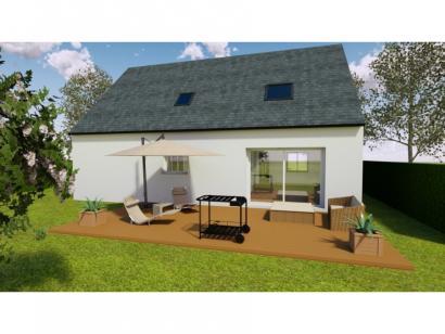 Modèle de maison AVANT PROJET YVRE - Etage 100 m² - 4ch 4 chambres  : Photo 2