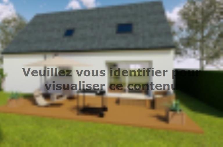 Modèle de maison AVANT PROJET YVRE - Etage 100 m² - 4ch : Vignette 2