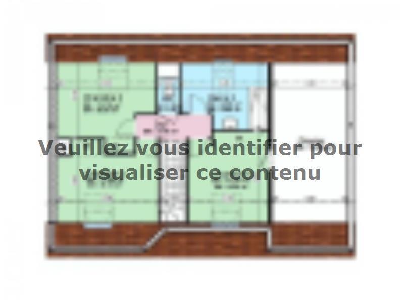 Plan de maison AVANT PROJET YVRE - Etage 100 m² - 4ch : Vignette 2