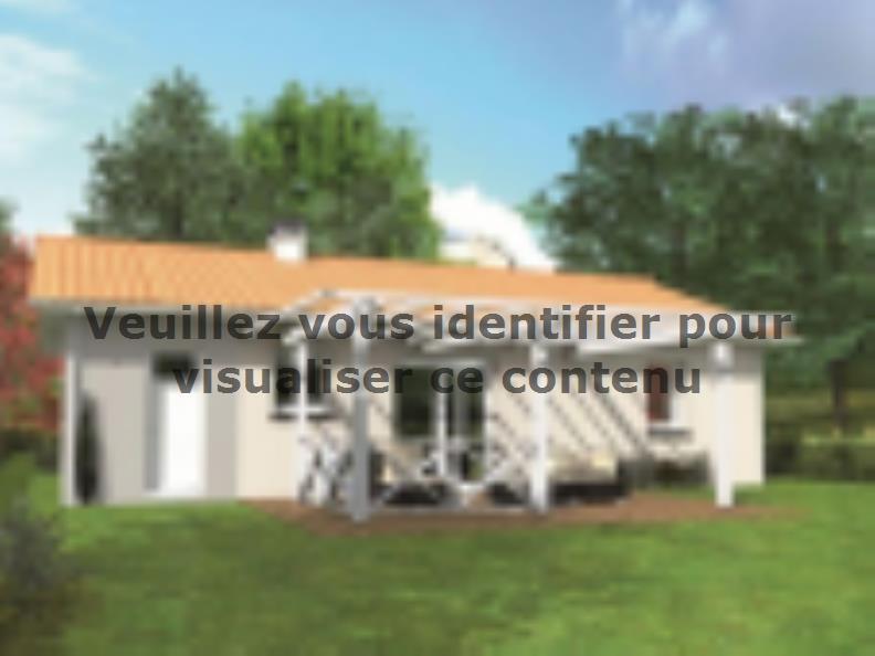 Modèle de maison Avant-projet ALLONNES - 67 m2 - 2 Chambres : Vignette 2