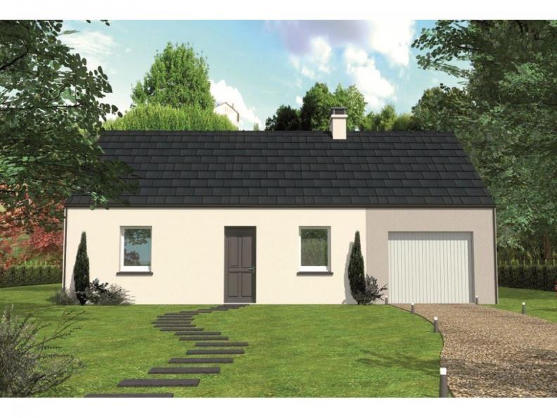 Modèle de maison Avant-projet ARNAGE - 84 m2 - 3 Chambres : Vignette 1
