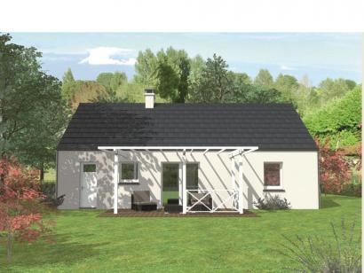 Modèle de maison Avant-projet ARNAGE - 84 m2 - 3 Chambres 3 chambres  : Photo 2