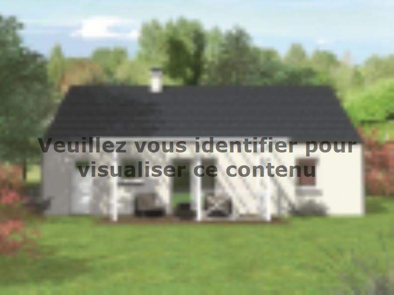 Modèle de maison Avant-projet ARNAGE - 84 m2 - 3 Chambres : Vignette 2