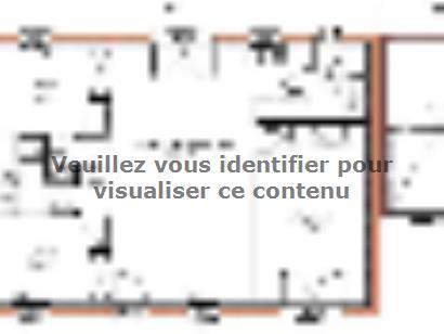 Plan de maison Avant-projet ARNAGE - 84 m2 - 3 Chambres 3 chambres  : Photo 1