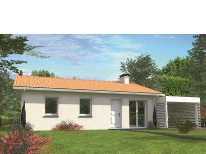 Modèle de maison Avant-projet BRETTE LES PINS - 69 m2 - 3 Chambres 3 chambres  : Photo 1