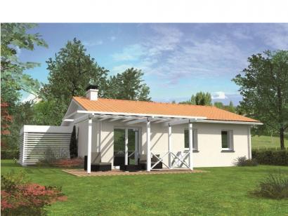 Modèle de maison Avant-projet BRETTE LES PINS - 69 m2 - 3 Chambres 3 chambres  : Photo 2