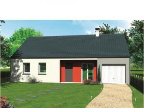 Avant-projet CHAMPAGNE - 87 m2 - 4 Chambres