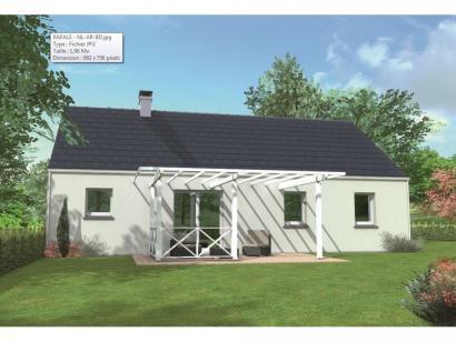Modèle de maison Avant-projet CHAMPAGNE - 87 m2 - 4 Chambres 4 chambres  : Photo 2
