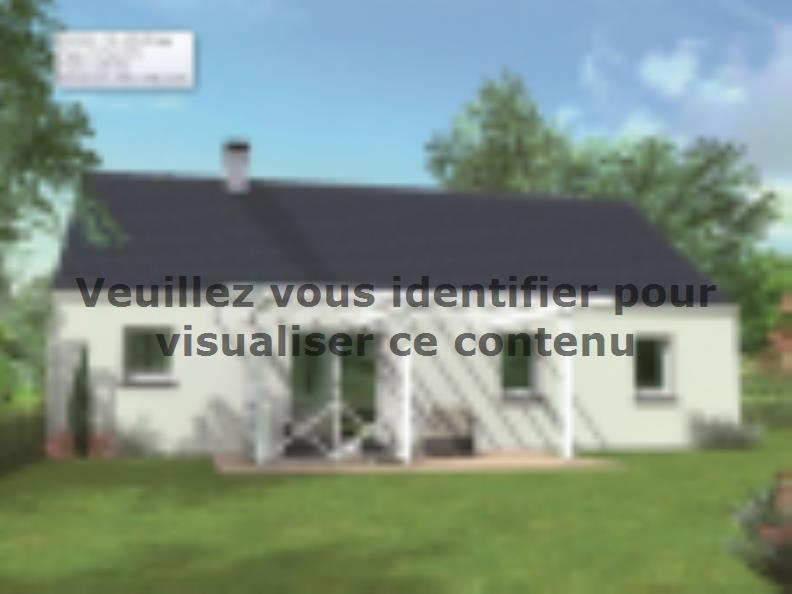 Modèle de maison Avant-projet CHAMPAGNE - 87 m2 - 4 Chambres : Vignette 2