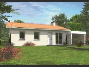 Avant-projet CHANGE - 69 m2 - 3 Chambres