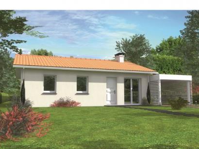 Modèle de maison Avant-projet CHANGE - 69 m2 - 3 Chambres 3 chambres  : Photo 1