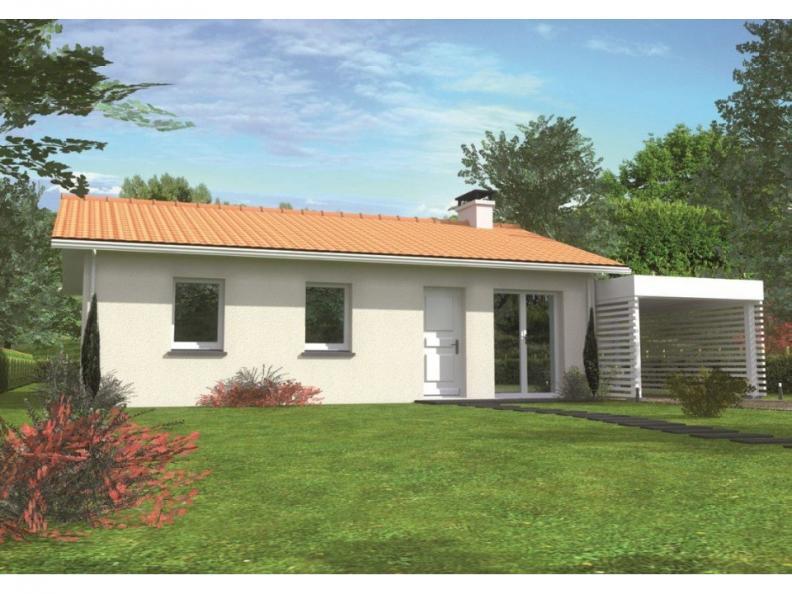 Modèle de maison Avant-projet CHANGE - 69 m2 - 3 Chambres : Vignette 1