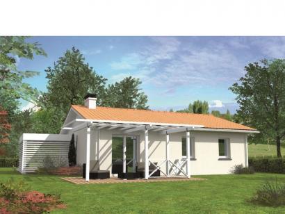 Modèle de maison Avant-projet CHANGE - 69 m2 - 3 Chambres 3 chambres  : Photo 2