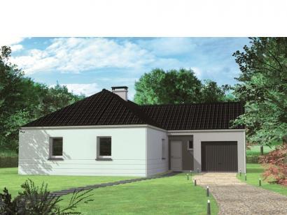 Modèle de maison Avant-projet CHEMIRE LE GAUDIN - 89 m2 - 3 Chambre 3 chambres  : Photo 1