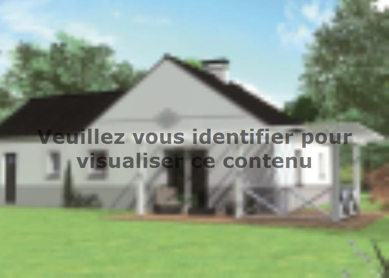 Modèle de maison Avant-projet CHEMIRE LE GAUDIN - 89 m2 - 3 Chambre : Vignette 2