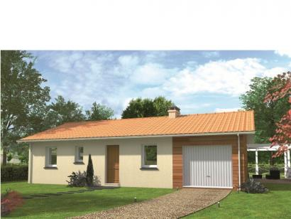 Modèle de maison Avant-projet GUECELARD - 91 m2 - 4 Chambres 4 chambres  : Photo 1