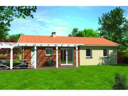 Modèle de maison Avant-projet GUECELARD - 91 m2 - 4 Chambres 4 chambres  : Photo 2
