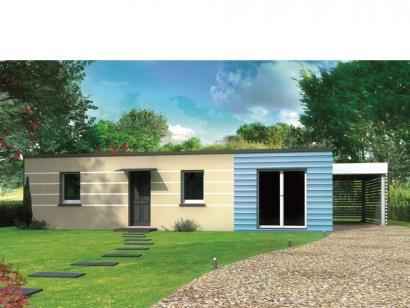 Modèle de maison Avant-projet LA BAZOGE - 84 m² - 3 Chambres 3 chambres  : Photo 1