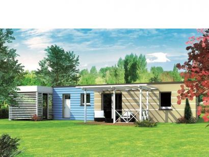 Modèle de maison Avant-projet LA BAZOGE - 84 m² - 3 Chambres 3 chambres  : Photo 2