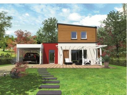Modèle de maison Avant-projet LA CHAPELLE SAINT AUBIN - 76 m2 - 3 C 3 chambres  : Photo 1