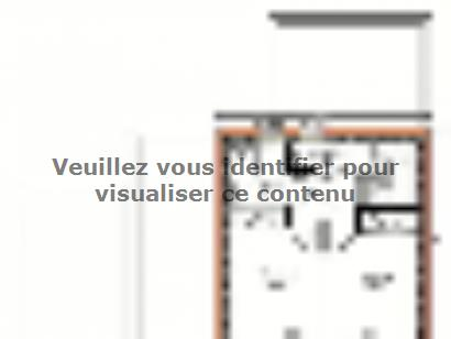 Plan de maison Avant-projet LA CHAPELLE SAINT AUBIN - 76 m2 - 3 C 3 chambres  : Photo 2