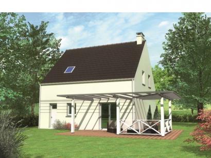 Modèle de maison Avant-projet LA FLECHE - 92 m2 - 3 Chambres 3 chambres  : Photo 2