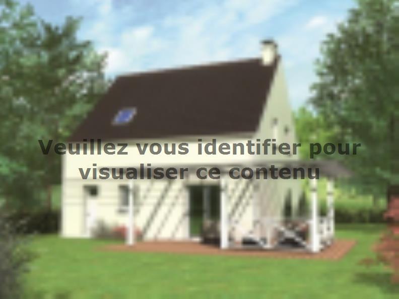 Modèle de maison Avant-projet LA FLECHE - 92 m2 - 3 Chambres : Vignette 2