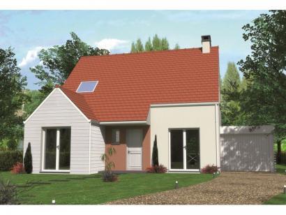 Modèle de maison Avant-projet LA MILESSE - 92m2 - 4 Chambres 4 chambres  : Photo 1