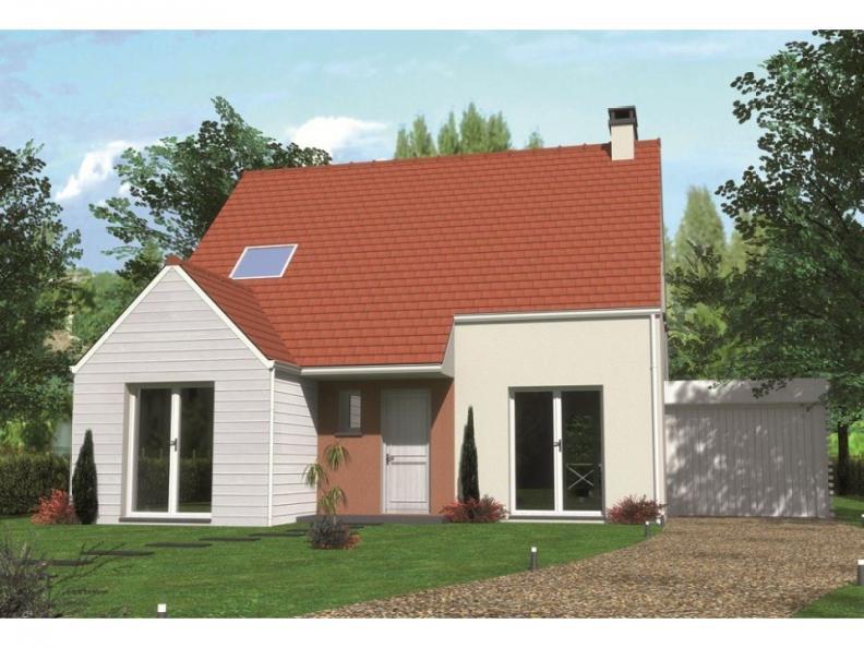 Modèle de maison Avant-projet LA MILESSE - 92m2 - 4 Chambres : Vignette 1
