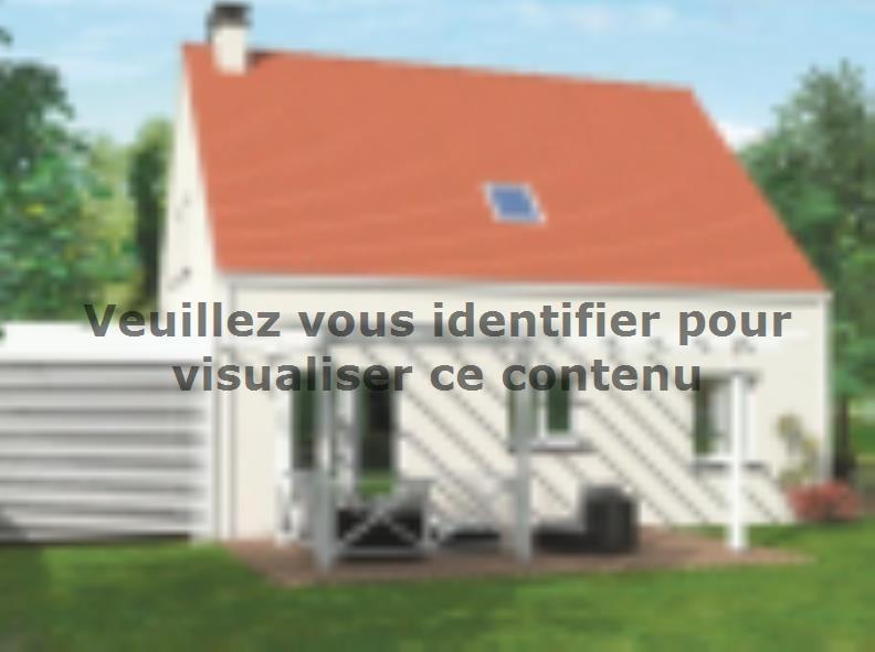 Modèle de maison Avant-projet LA MILESSE - 92m2 - 4 Chambres : Vignette 2
