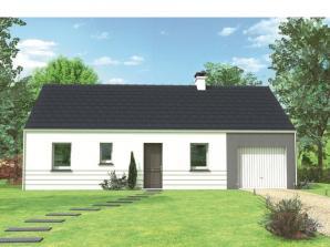 Avant-projet MAYET - 76 m2 - 3 Chambres