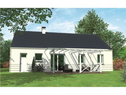 Modèle de maison Avant-projet MAYET - 76 m2 - 3 Chambres 3 chambres  : Photo 2