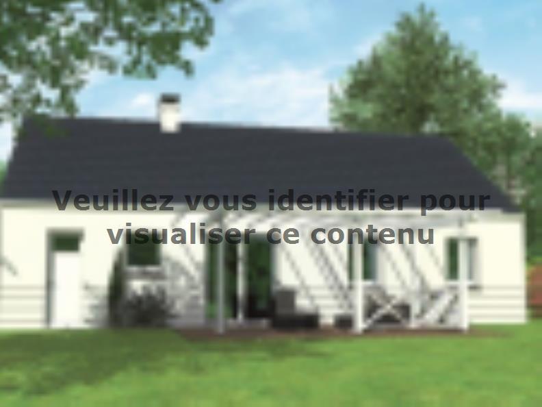 Modèle de maison Avant-projet MAYET - 76 m2 - 3 Chambres : Vignette 2