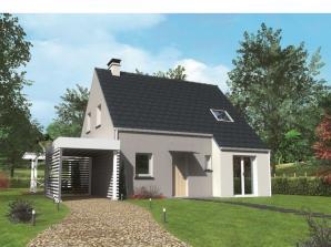 Avant-projet MULSANNE - 95 m2 - 4 Chambres
