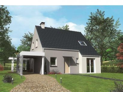 Modèle de maison Avant-projet MULSANNE - 95 m2 - 4 Chambres 4 chambres  : Photo 1