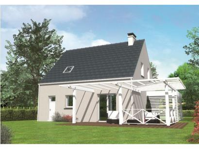 Modèle de maison Avant-projet MULSANNE - 95 m2 - 4 Chambres 4 chambres  : Photo 2